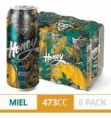 Sixpack Cerveza Temple Wolf Honey 473 Ml