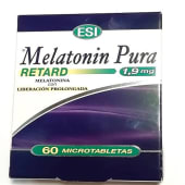 Melatonina Pura Retard (1,9 Mg.) (60 micro tabletas)
