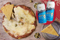 Promo Grupal 1 + 2 latas Quilmes (473 ml.)