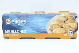 Mejillón Eche Eliges 3 Pack (129 g.)