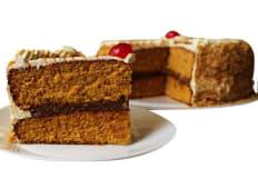 Torta de caramelo mediana (25 porciones)