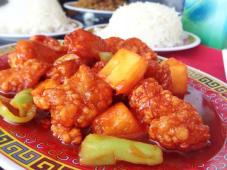 Pollo a la piña Saigón