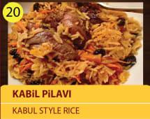 Kabul pilavi - kabul style rice