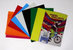 Papel Brillante Colores A5 Pqtx10Hjs