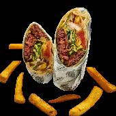 Burger Burrito