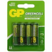 Baterie zinc carbon Greencell GP R6 (AA) infoliat 4 buc/blister