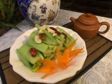 B2 ცხარე კიტრის სალათი ჩინურად