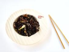 Чорні гриби з огірком (200г)