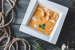 Supă cremă de fructe de mare
