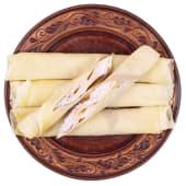 Млинці з сиром та полуницею (2шт/500г)