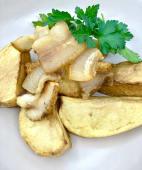 Картопля запечена з салом (200/30г)