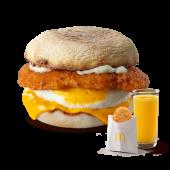 McMuffin de Pollo y Huevo