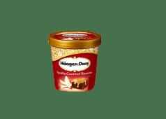 Glace Häagen-Dazs Vanilla Caramel Brownie 95ml