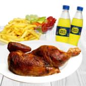 1/2 pollo a la brasa + 2 gaseosas personales