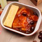 Praz cu măsline și mămăligă