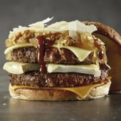 4 Cheese Double Burger