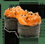 50. Gunkan de salmón (2 uds)