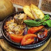 Пательня з овочами та м'ясом (310г)
