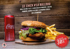 Burger Chick a'la Bulldog