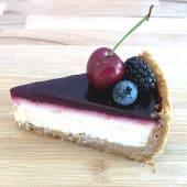 Cheesecake de frutos rojos (ración)