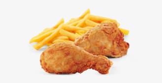 1/4 Chicken & Chips