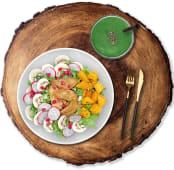Comida Ensalada + Smoothie