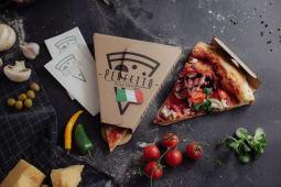 3 felii de pizza + sos