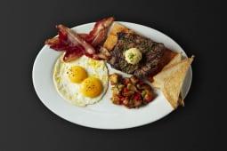 Bourbon Steak & Eggs
