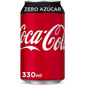 Coca Cola Zero lata (330 ml.)