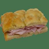 Italian Focaccia with Ham