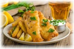Fish & chips na irski način
