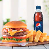 50% OFF Bacon Cheese Burger