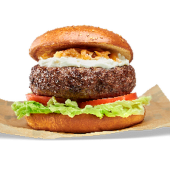 Philadelphia onion burger