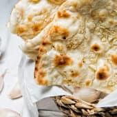 Garlic naan (ajo)