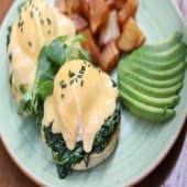 Huevos Benedict florentine