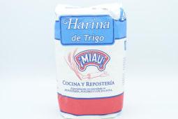 Harina Miau De Trigo 1 Kilogramo.
