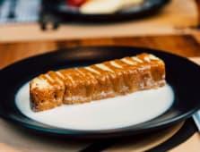 Pastel de Tres Leches de chocolate blanco