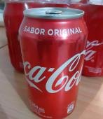 Gaseosa Coca-cola lata 354ml.