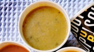 Supa vieneza de cartofi cu ciuperci (vegetariana)