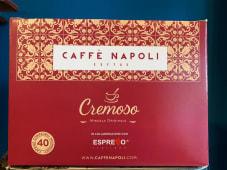 """40 Capsule Caffè Napoli """"Cremoso"""" compatibili Nespresso"""