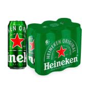 Pack de 6 Heineken