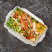 Салат з Креветками Sweet chilli (400г)
