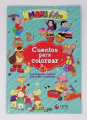 Maxi Libro Cuentos Para Colorear