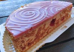 Торт Вишневий половинка (550г)