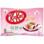 Kitkat mini sakura mochi