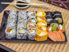Combo san (30 piezas, todo salmón)