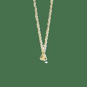 Collana Geode, placcatura oro
