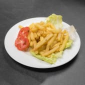 Chips with Salad