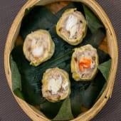 Shumai de cangrejo fresco (4 uds.)