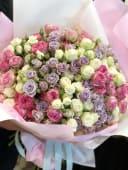 Букет №20 Мікс кущових троянд